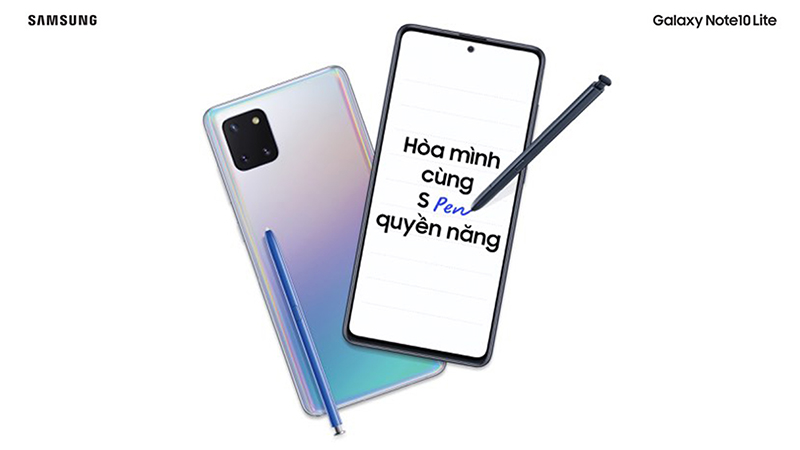 Hình giới thiệu Samsung Galaxy Note 10 Lite