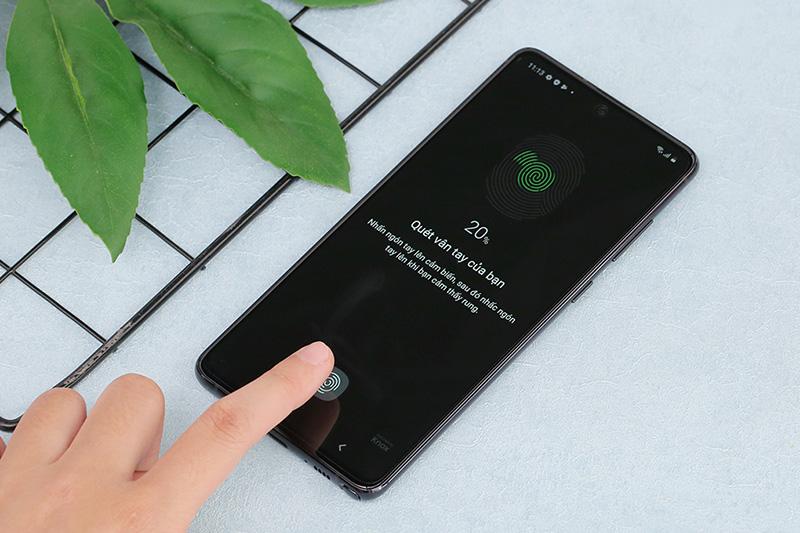 Điện thoại Samsung Galaxy Note 10 Lite | Cảm biến vân tay