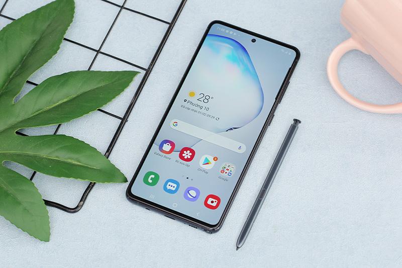 Điện thoại Samsung Galaxy Note 10 Lite | Thiết kế hiện đại, sang trọng