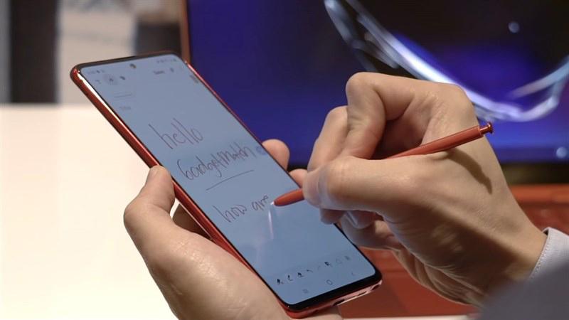 Điện thoại Samsung Galaxy Note 10 Lite | Màn hình
