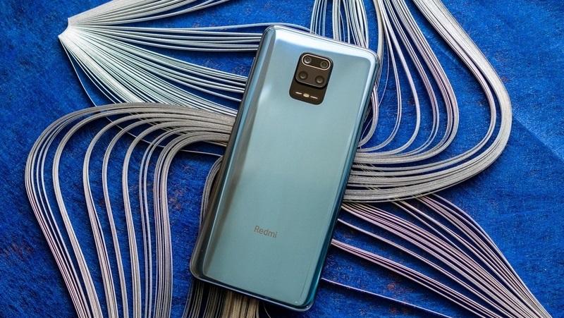 Điện thoại Redmi Note 9s | Thiết kế mặt lưng