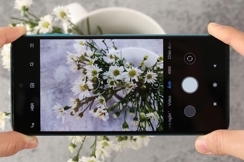 Redmi Note 9s | Giao diện camera