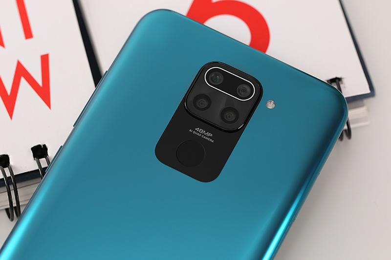 Điện thoại Xiaomi Redmi Note 9 | Cụm camera 48 MP siêu nét