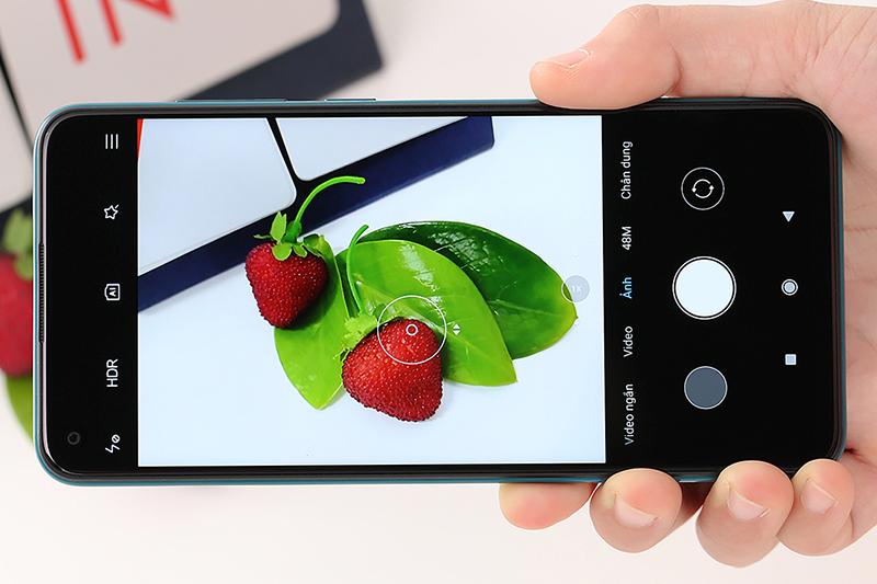 Điện thoại Xiaomi Redmi Note 9 | Giao diện camera