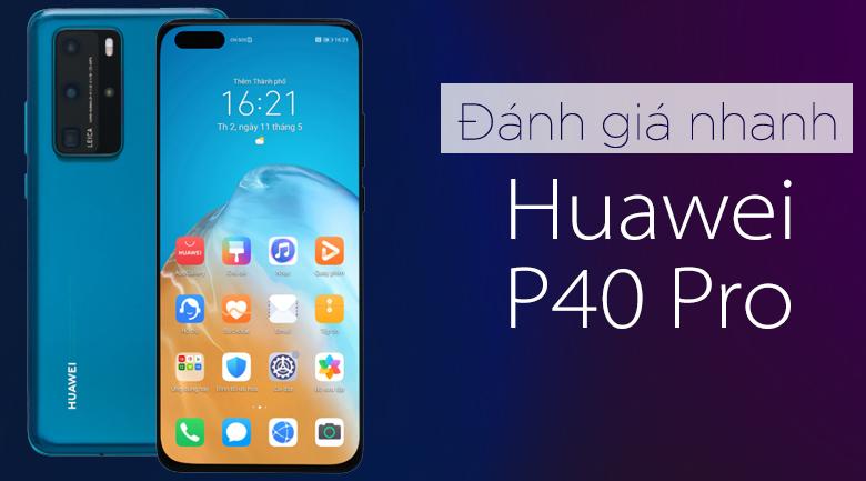 Huawei P40 Pro (Nền tảng Huawei Mobile Service)