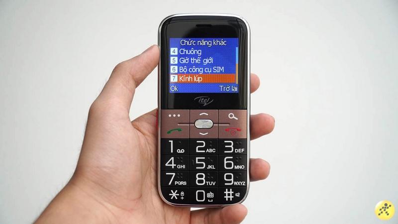 Điện thoại Itel it2590 | Hỗ trợ thẻ nhớ ngoài đến 32 GB