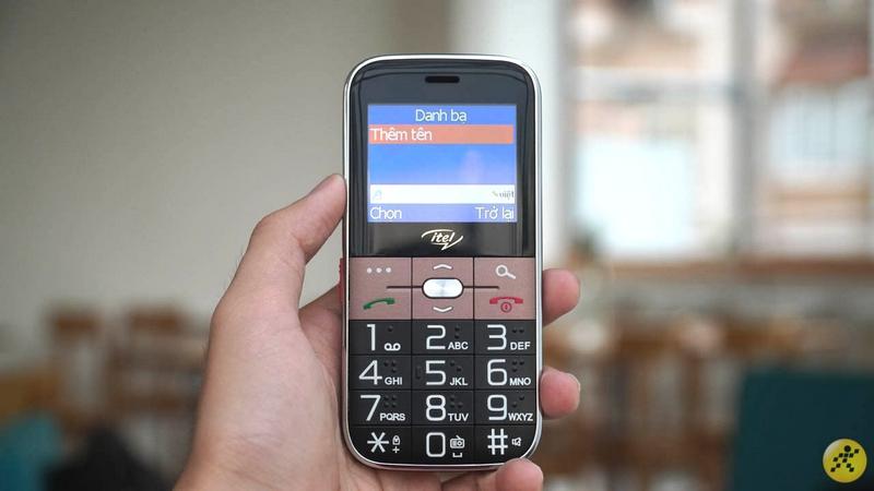 Điện thoại Itel it2590 | Màn hình kích thước lớn