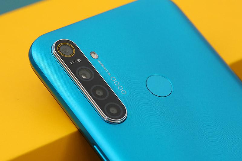 Điện thoại Realme 5i | Bộ 4 camera ấn tượng