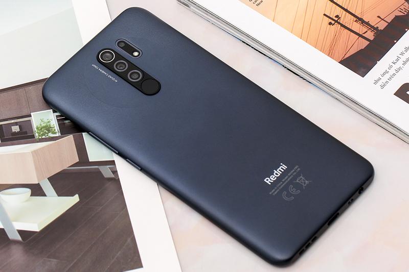 Điện thoại Xiaomi Redmi 9 | Thiết kế mặt lưng đẹp mắt