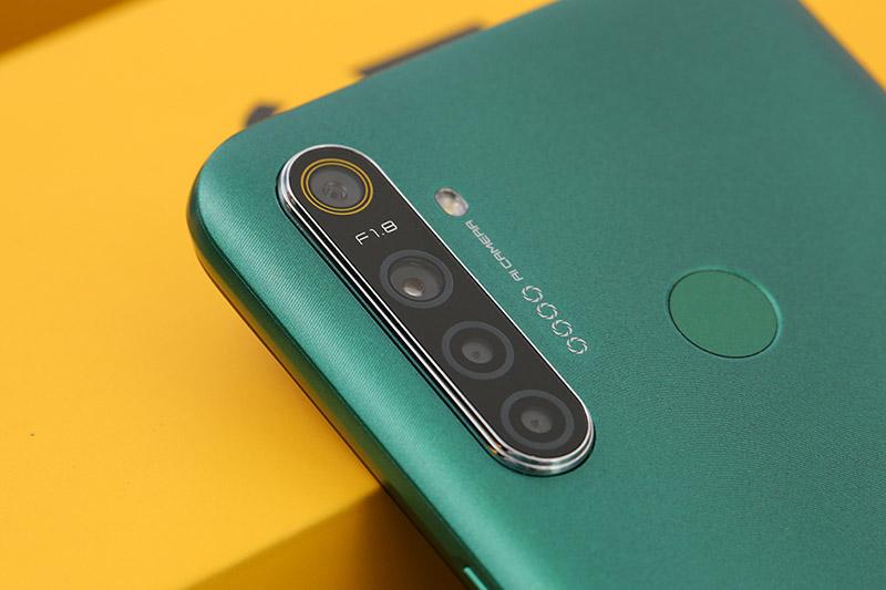 Điện thoại Realme 5i | Bộ 4 camera chất lượng