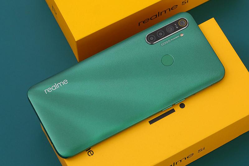 Điện thoại Realme 5i | Camera độc đáo