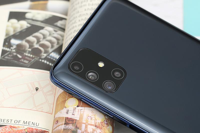 Sở hữu 4 camera sau với độ phân giải cực kì ấn tượng | Samsung Galaxy M51
