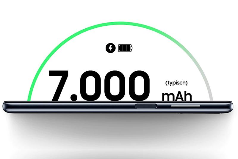 Dung lượng pin khủng cùng công nghệ sạc nhanh | Samsung Galaxy M51