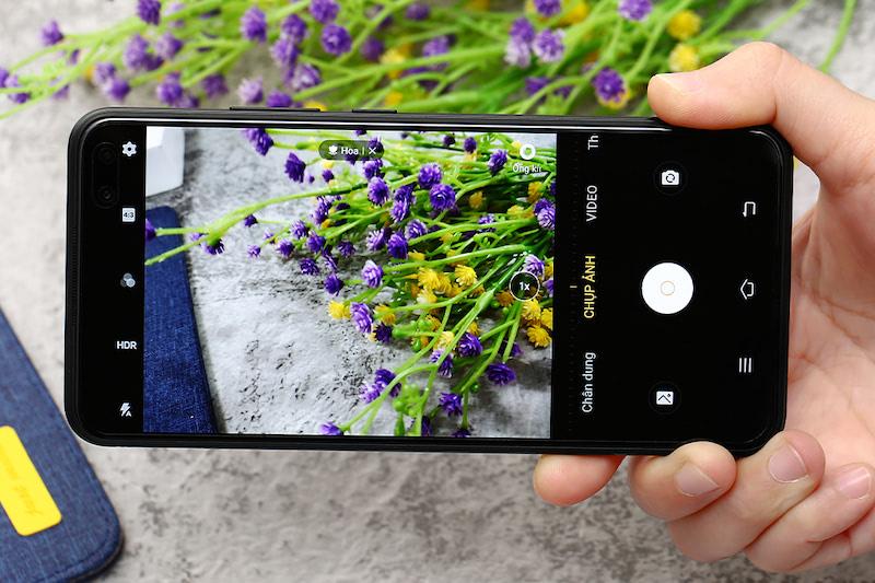 Điện thoại Vivo V19 | Giao diện camera