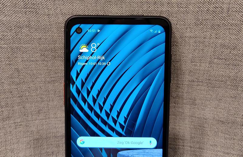 Điện thoại Samsung Galaxy Xcover Pro | Màn hình