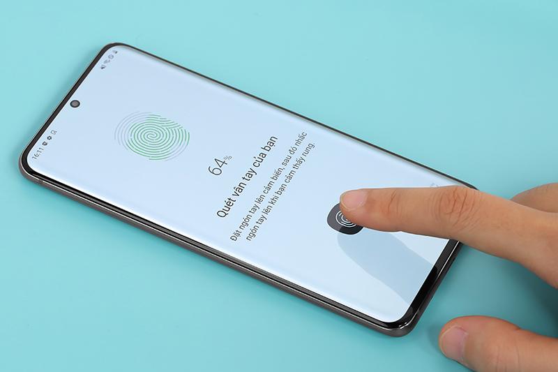 Samsung Galaxy S20 | Cảm biến vân tay quang học
