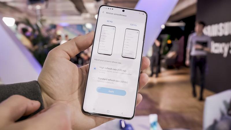Samsung Galaxy S20 Plus | Thiết kế màn hình 120 Hz