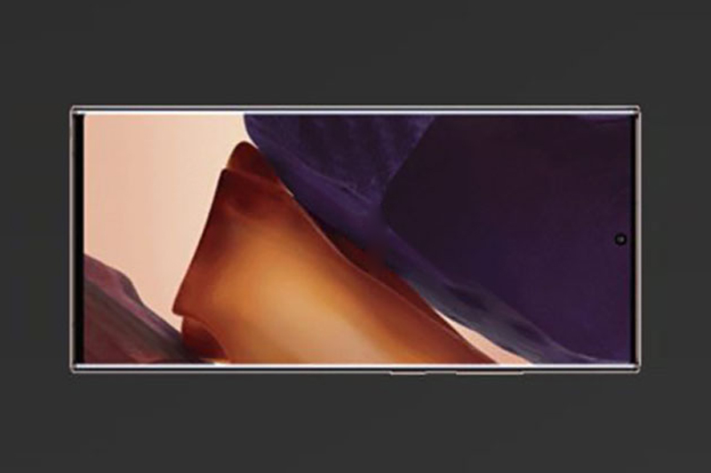 Trang bị màn hình Infinity-O - Samsung Galaxy Note 20