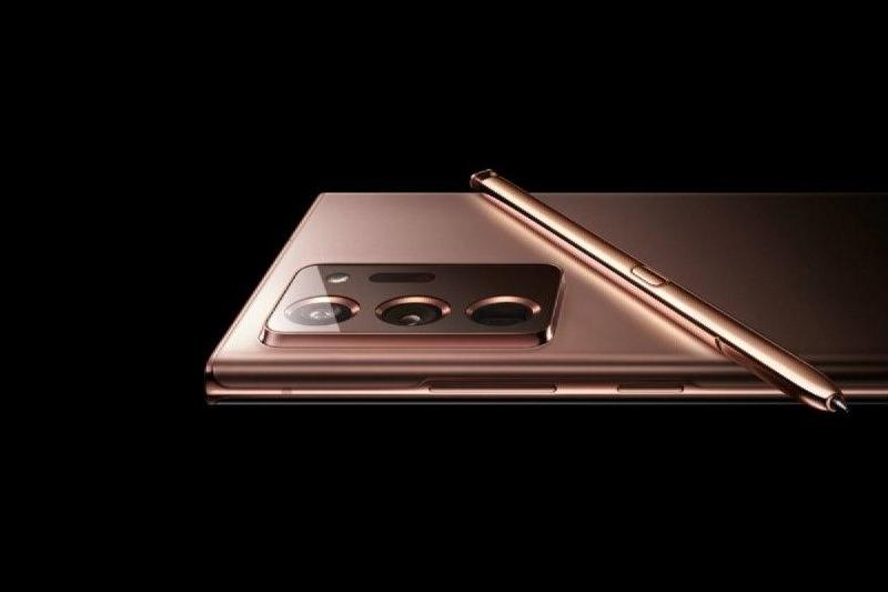 Thiết kế S Pen kèm theo máy - Samsung Galaxy Note 20