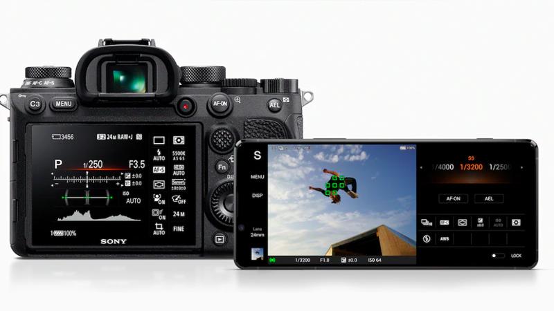 Điện thoại Sony Xperia 1 II | Kết hợp với máy ảnh