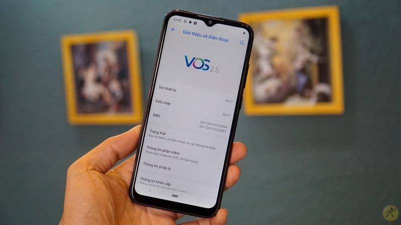 Vsmart Joy 3 được tích hợp phiên bản VOS 2.5