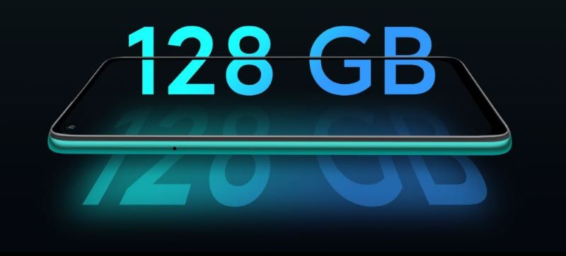 Điện thoại Redmi 10X | Lưu trữ thoải mái với 128 GB bộ nhớ trong