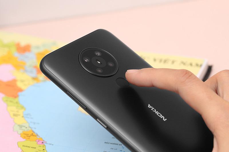 Điện thoại Nokia 5.3 hoàn thiện với mặt lưng siêu bền chống trầy tốt