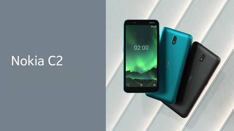 Thiết kế của điện thoại Nokia C2 giữ nguyên đi kèm là màu sắc mới