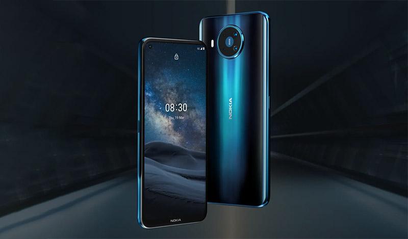 Nokia 8.3 | Hiệu năng mạnh mẽ, hỗ trợ 5G