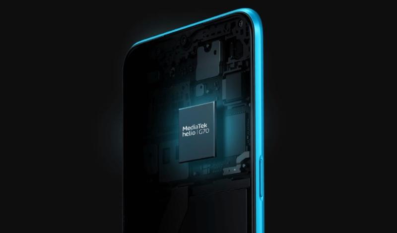 Điện thoại Realme C3i | Vi xử lý Helio G70