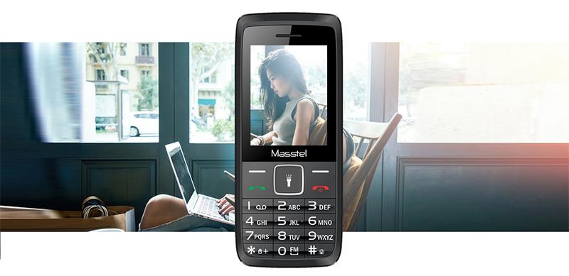 Điện thoại Masstel IZI 200 | Nhiều tiện ích đi kèm