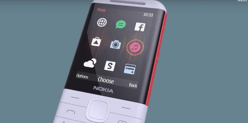 Màn hình chính điện thoại Nokia 5310 (2020)