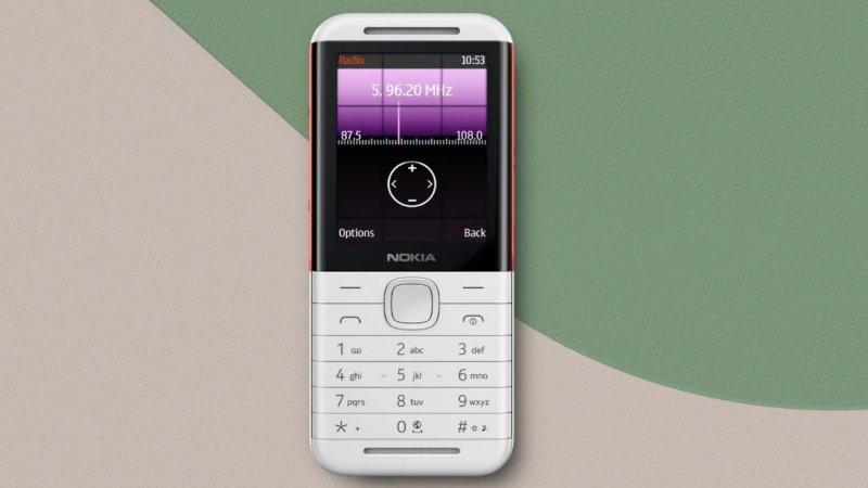 Mặt trước Điện thoại Nokia 5310 (2020)