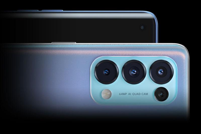 Hệ thống camera sau | OPPO Reno5