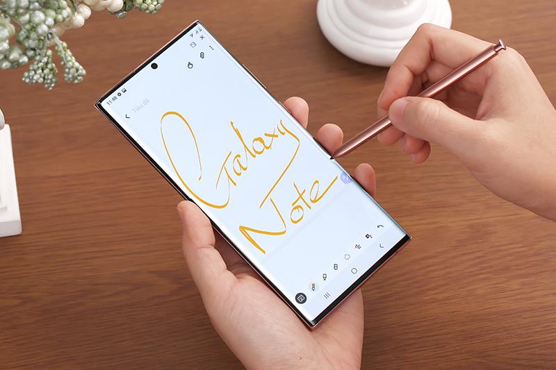 Sử dụng phát họa trên máy - Samsung Galaxy Note 20 Ultra