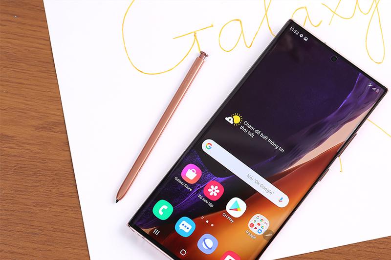 Cận cảnh bút S-Pen - Samsung Galaxy Note 20 Ultra