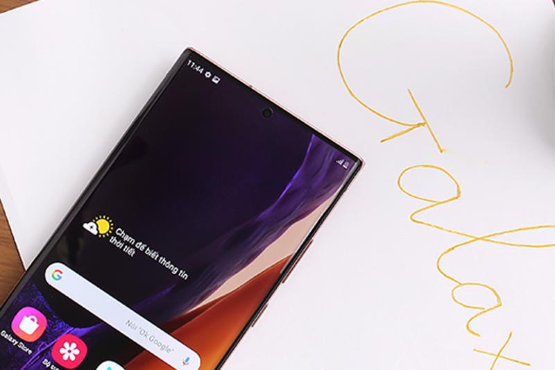 Camera nốt ruồi, tối giản màn hình cực rộng - Samsung Galaxy Note 20 Plus