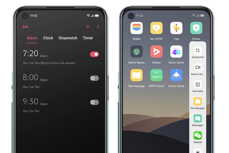 Điện thoại OPPO A52 | Có các chế độ hỗ trợ