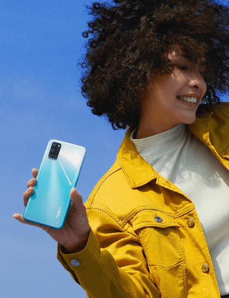 Điện thoại OPPO A92 | Thiết kế mặt lưng với họa tiếc độc đáo