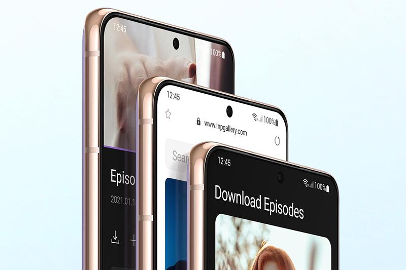 Samsung Galaxy S21 5G | Trang bị mở khóa vân tay siêu âm đặt dưới màn hình và bảo mật khuôn mặt