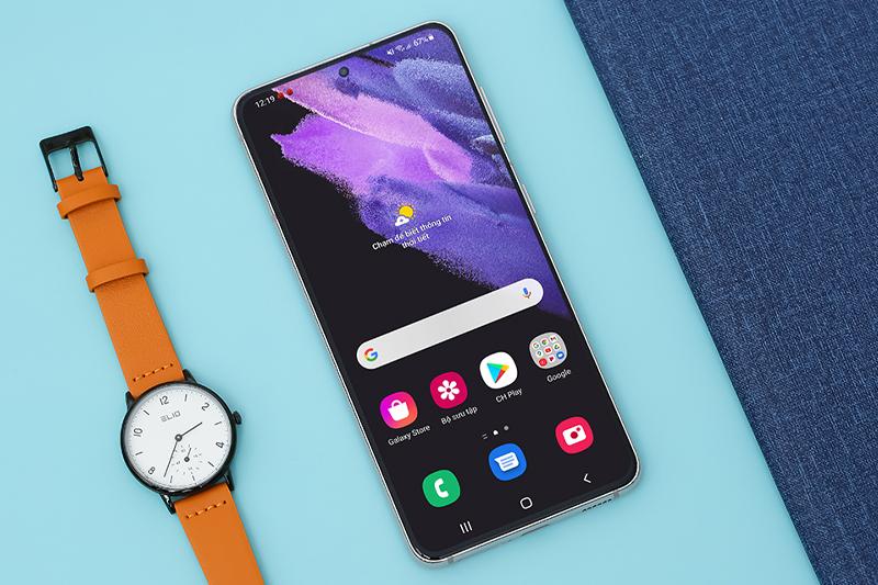 Samsung Galaxy S21 5G | Trang bị màn hình Dynamic AMOLED 2X, hỗ trợ HDR10+ tiên tiến
