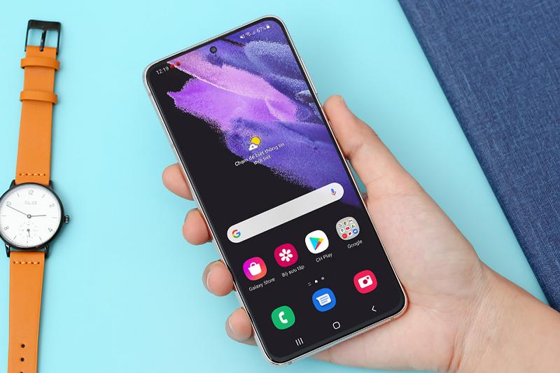 Samsung Galaxy S21 5G | Dải màu sắc trên di động chuẩn điện ảnh