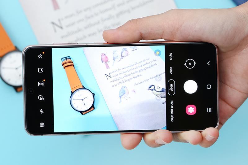 Samsung Galaxy S21 5G | Giao diện chụp ảnh