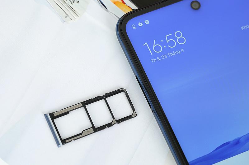 Điện thoại Xiaomi Redmi Note 9 Pro | Thiết kế khay sim kép có hỗ trợ thẻ nhớ ngoài MicroSD