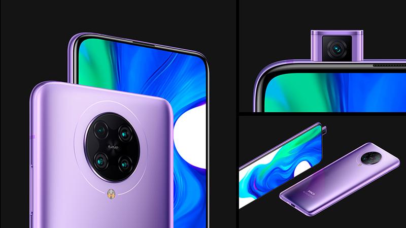Điện thoại POCO F2 Pro   Thiết kế tràn viền