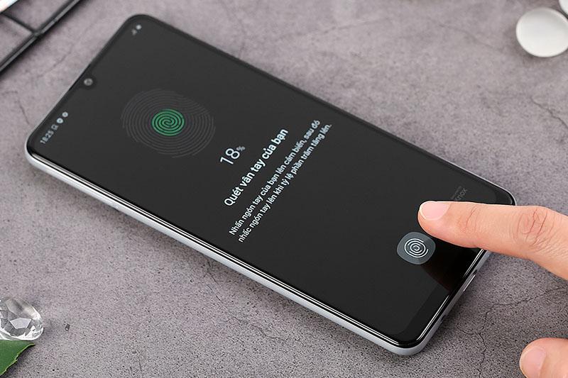 Điện thoại Samsung Galaxy A21s | Cảm biến vân tay