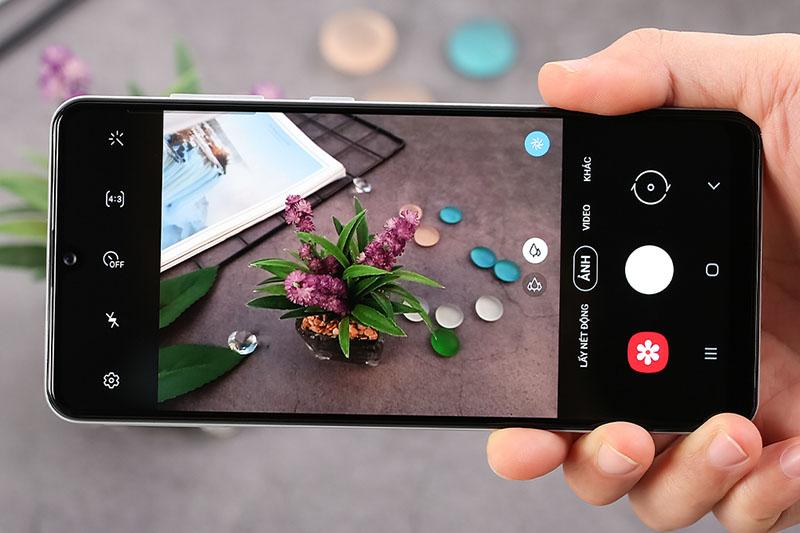 Điện thoại Samsung Galaxy A21s | Giao diện camera sau