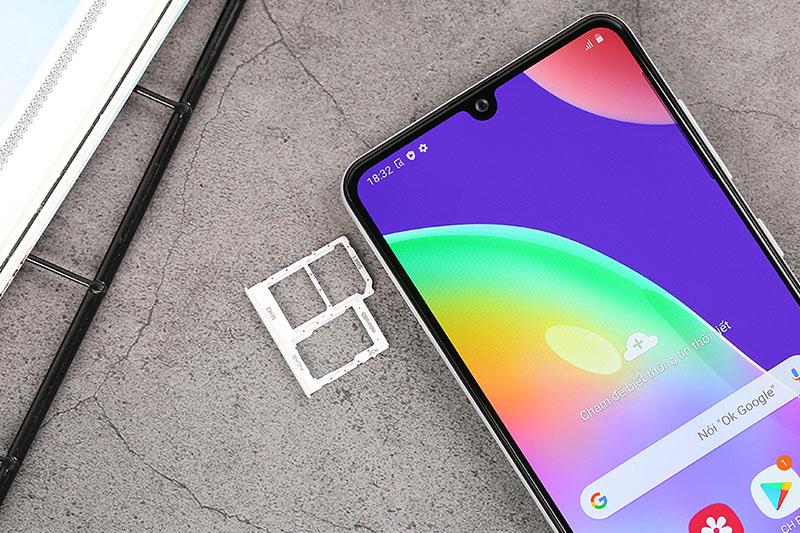 Điện thoại Samsung Galaxy A21s | Khay sim