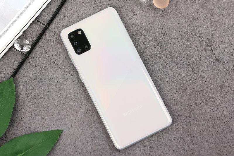 Điện thoại Samsung Galaxy A21s | Thiết kế mặt lưng