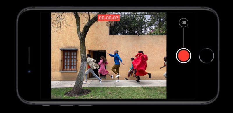 Điện thoại Apple iPhone SE 2020 | Tính năng quay phim Quicktake